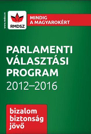 Parlamenti választások 2016 - Program