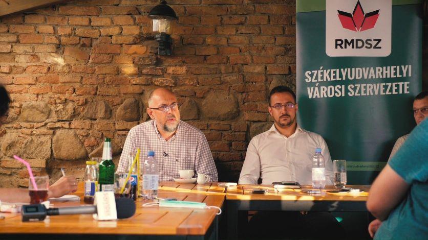 Kelemen Hunor: Székelyudvarhelyen az @RMDSZ és jómagam támogatásáról biztosítottam Derzsi László polgármester-jelöltet és a városi tanácsosi listát. A Szövetség erejét és