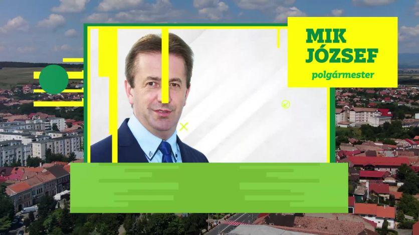 Ma győztek a borszékiek, győzött Borszék! Mik József a polgármester.