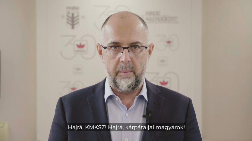 Kelemen Hunor: Vasárnap helyhatósági választást tartanak Ukrajnában. Nagyon drukkolunk a magyar barátainknak és a Kárpátaljai Magyar Kulturális Szövetségnek. Hajrá!