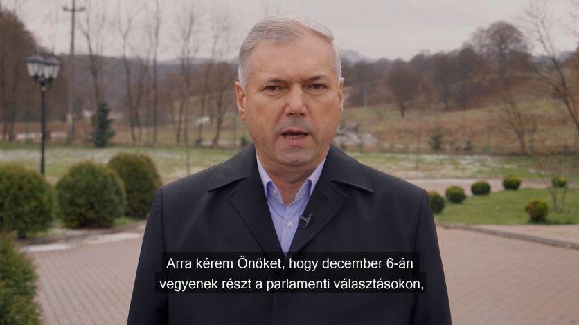 Péter Ferenc: Mi, magyarok csak magunknak ártunk azzal, ha nem megyünk el szavazni, mert a mi ügyeinket más nem fogja képviselni a parlamentben. Ahhoz, hogy több pénz jusson a magyar
