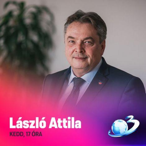 📺🔻  🕖 Ma délultán 17 órától László Attila az Antena3 műsorának vendége.  🕖 21 órától Kelemen Hunor a B1 televízió meghívottja. ▶ https://www.b1.ro/live.php