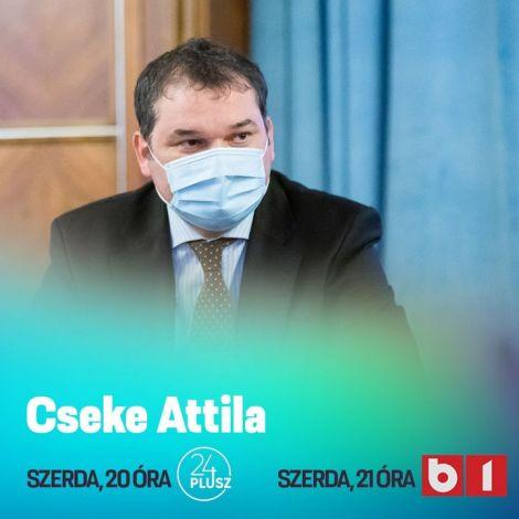 📺🔻 🕖 Ma este Cseke Attila  𝟮𝟬 𝗼́𝗿𝗮́𝘁𝗼́𝗹 az Erdélyi Magyar Televízió #24plusz műsorának vendége, és 𝟮𝟭 𝗼́𝗿𝗮́𝘁𝗼́𝗹 a B1.ro t