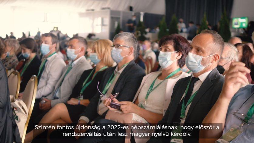 A jövő év egyik legnagyobb kihívása a népszámlálás, az RMDSZ pedig arra vállalkozik, hogy magyar tájékoztató és támogató kampányt szervez. A kongresszuson Horváth Anna, az R