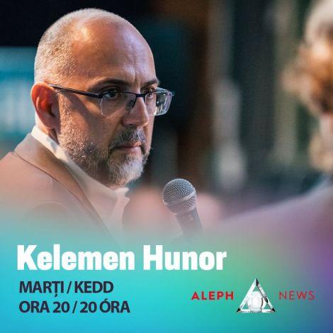 🇭🇺   🇷🇴    🕖 Ma este 20 órától Kelemen Hunor a Marius Tucă Show vendége lesz az Aleph News-on. Kövesd élőben itt ➡ https://alephnews.ro/   🕖 Astăzi de la ora 20 K