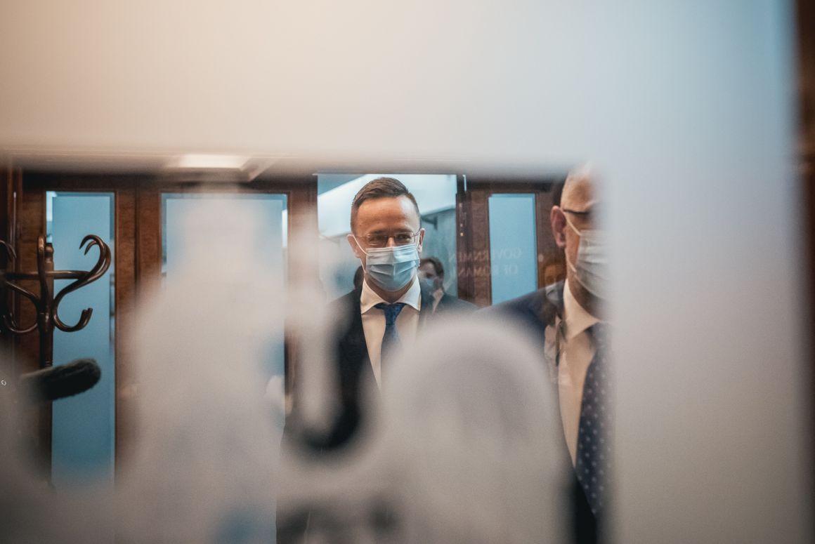 Szijjártó Péter nyiltkozata a Kelemen Hunorral folytatott találkozó után