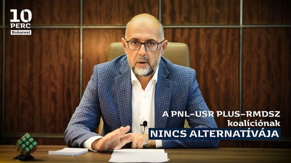 Kelemen Hunor: a koalíciós pártoknak az kell legyen a céljuk, hogy egy tiszta és világos többséget alkossanak a parlamentben
