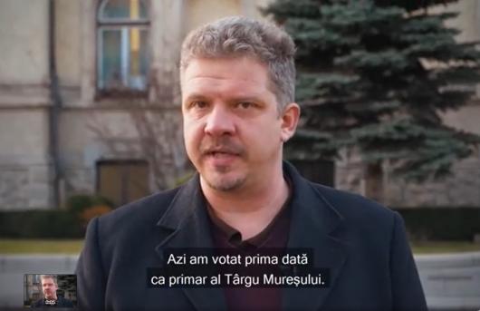 Soós Zoltán: Soós Zoltán: Ma először szavaztam Marosvásárhely polgármestereként