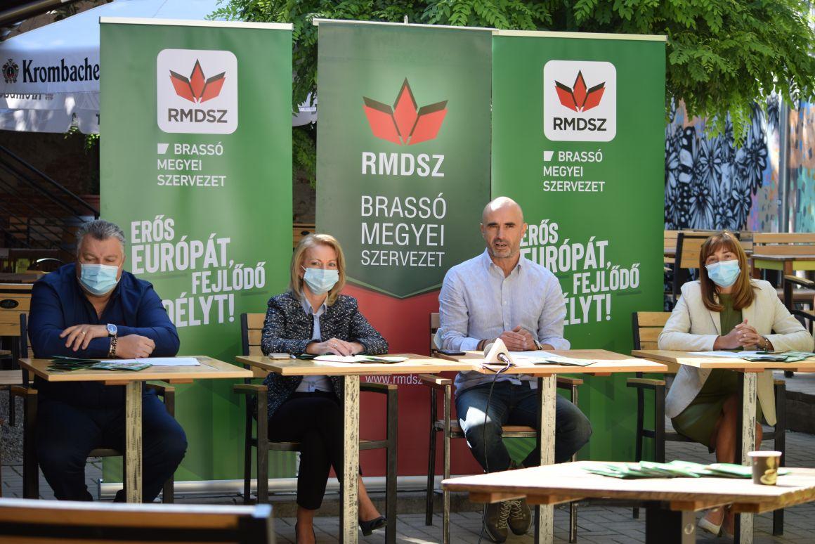 Bemutatta választási programját az RMDSZ Brassó megyei szervezete