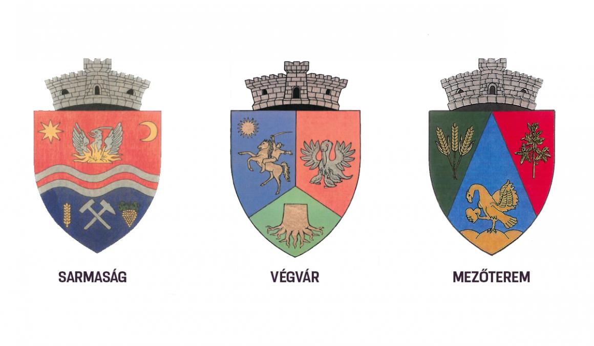 Sarmaság, Végvár és Mezőterem címeréről döntött a kormány