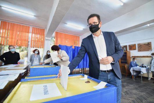 Vincze Loránt: A váltásra szavaztam Marosvásárhelyen!
