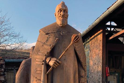 Bethlen Gábor marosvásárhelyi szobrának avatója