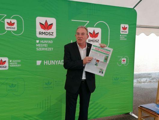 Hunyad megyei célkitűzés: az önkormányzati képviselet megerősítése