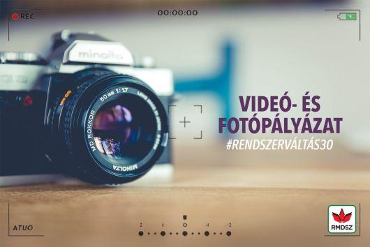 #Rendszerváltás30 - fotó- és videópályázat eredményhirdetése