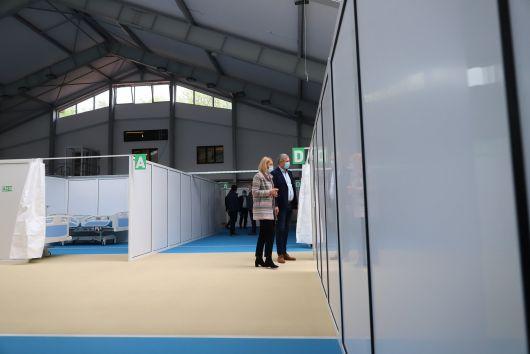 Ideiglenes kórházzá alakítanak át egy sportcsarnokot Marosvásárhelyen