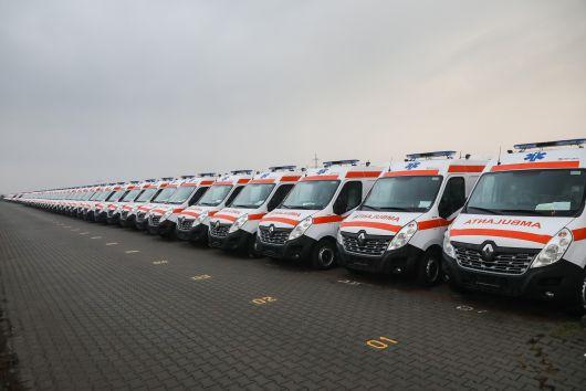 1358 új mentőautó vásárlását teszi lehetővé a fejlesztési minisztérium