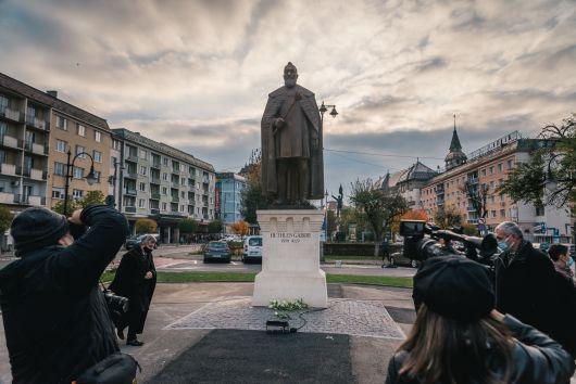 Kelemen Hunor beszéde Bethlen Gábor marosvásárhelyi szobrának avatóján
