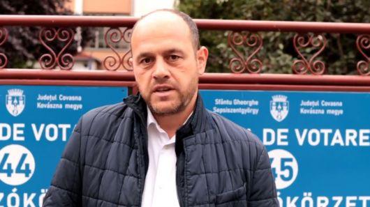 Grüman Róbert nyilatkozata a szavazást követően