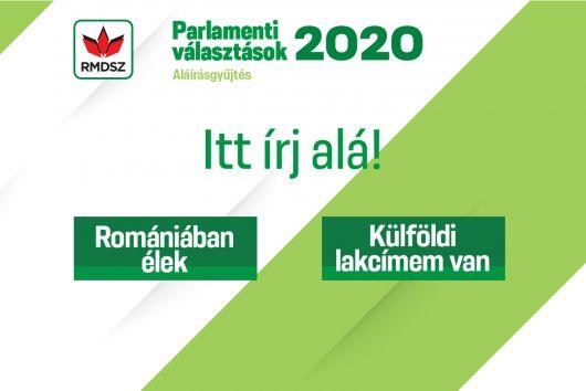 Elkezdtük az aláírásgyűjtést a parlamenti választásokra