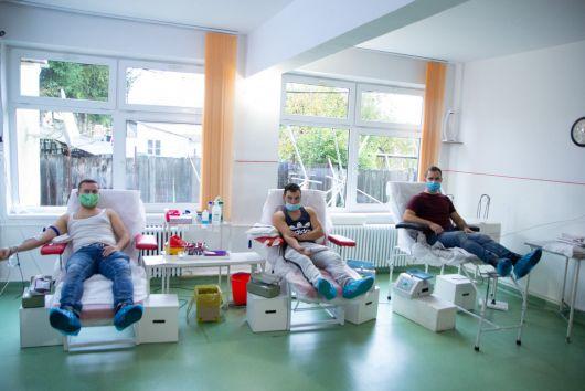Több mint 200 fiatal véradót mozgósított a MIÉRT