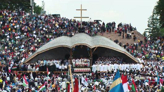 Hungarikummá nyilvánították a csíksomlyói pünkösdi búcsút és kegyhelyet