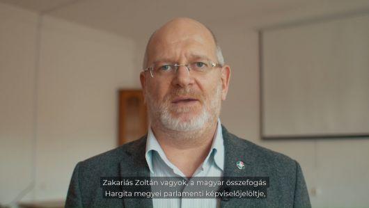 Ismerd meg jelöltjeinket: Zakariás Zoltán