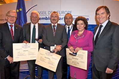 Frunda György az Európa Tanács Parlamenti Közgyűlésének tiszteletbeli tagja
