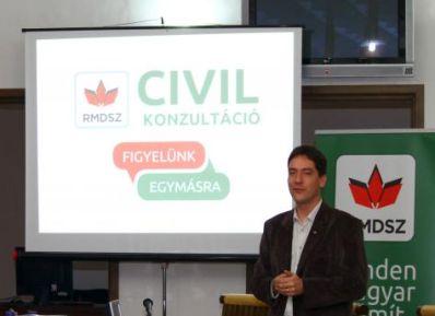 Az RMDSZ partnerszervezetei is bekapcsolódnak a Civil Konzultációba