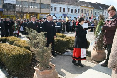"""""""Egyszerre igyekszünk megtartani és visszaszerezni"""" - Székelykeresztúron is megünnepelték március 15-ét"""