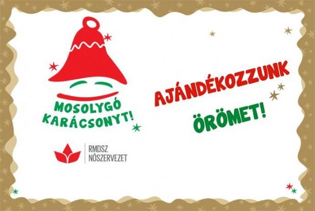 Országszerte zajlik az RMDSZ Nőszervezetének harmadik kiadásához érkezett ünnepváró rendezvénysorozata, a Mosolygó Karácsonyt!