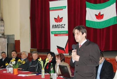 Kencse Előd az RMDSZ polgármesterjelöltje Csíkszentimrén