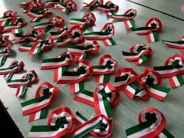 Nemzeti ünnep a piski csata emlékművénél