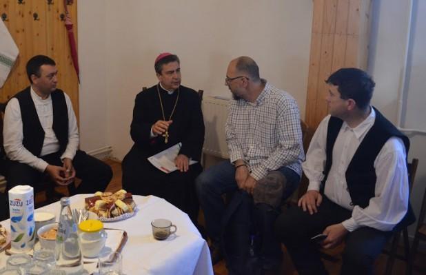 A pápai nuncius üdvözölte a Hargita Megye Tanácsa és az egyházak közti szoros együttműködést