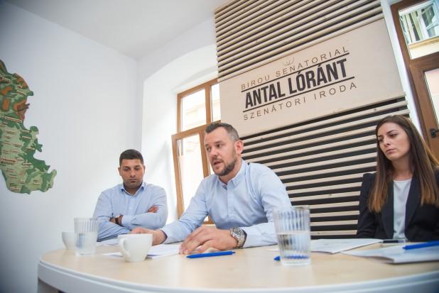 Megnyílt Antal Lóránt szenátori irodája Székelyudvarhelyen