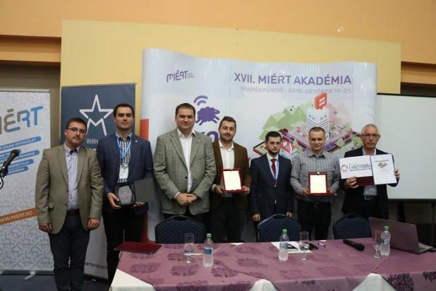 Okos településeket és okos projektet díjaztak a MIÉRT Akadémián
