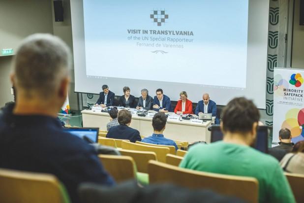 A Kárpát-medencei magyar közösségek helyzetéről és a nyelvi jogok érvényesüléséről tájékoztatták az ENSZ kisebbségügyi különmegbízottját Kolozsváron