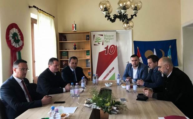 Kelemen Hunor az MPP új elnökével találkozott